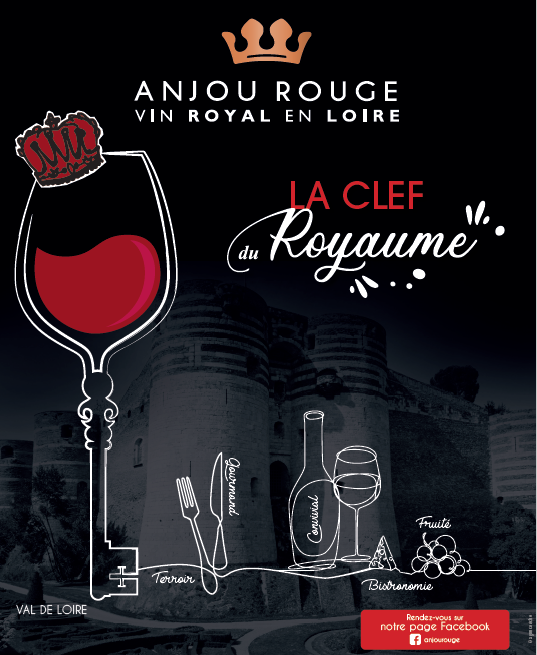Affiche Anjou Rouge